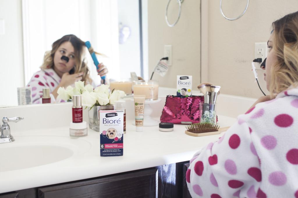 Bioré® Self Heating One Minute Mask, Bioré® Deep Cleansing Charcoal Pore Strip,#ad, #shop, #cbias