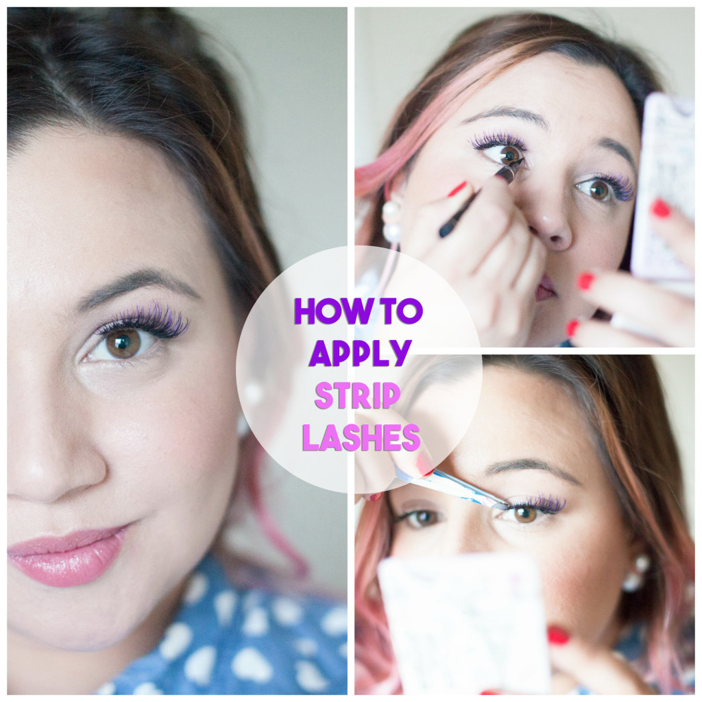 How To Apply Ardell Lashes