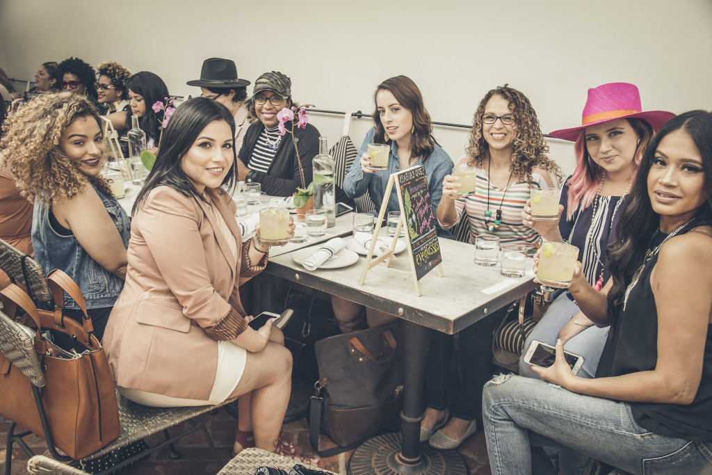 Bloggers at Gracias Madre in L.A.