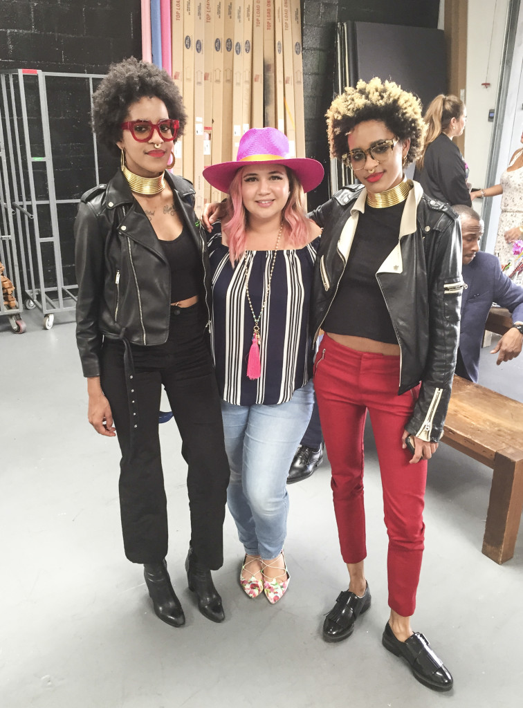 With eye-wear designers & twins Coco and Breezy at We All Grow Blogger Summit field trip
