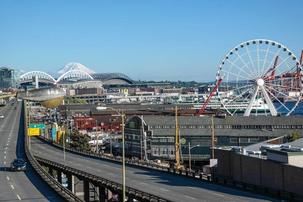 Beautiful view of Seattle