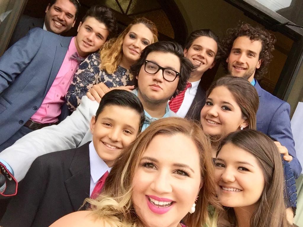 Cousins from Honduras