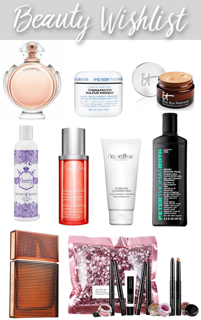 Fall 2016 Beauty Wish List by Lipstick and Brunch