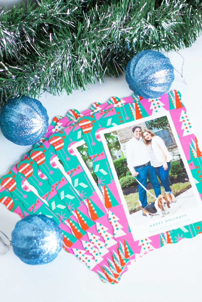 Our Christmas cards with Minted and Giveaway