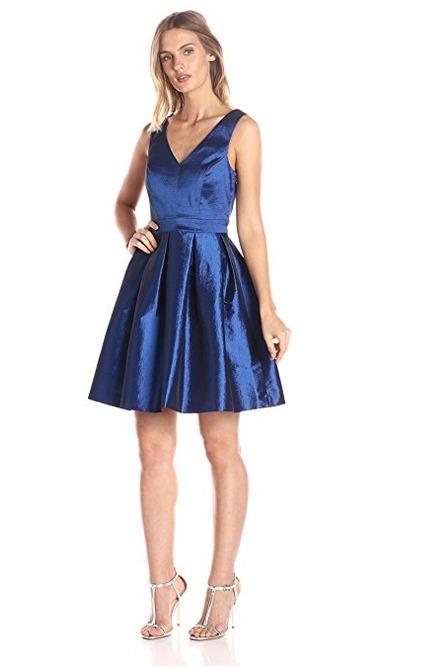 Blue New Year's Dress