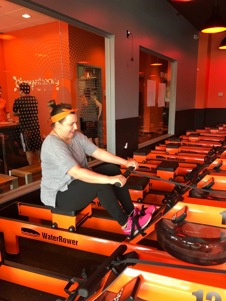 Rowing-at-Orangetheory-Fitness