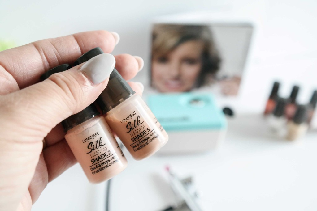 Pro Tip: Is one color too light? The other too dark? Mix them to create your perfect shade!