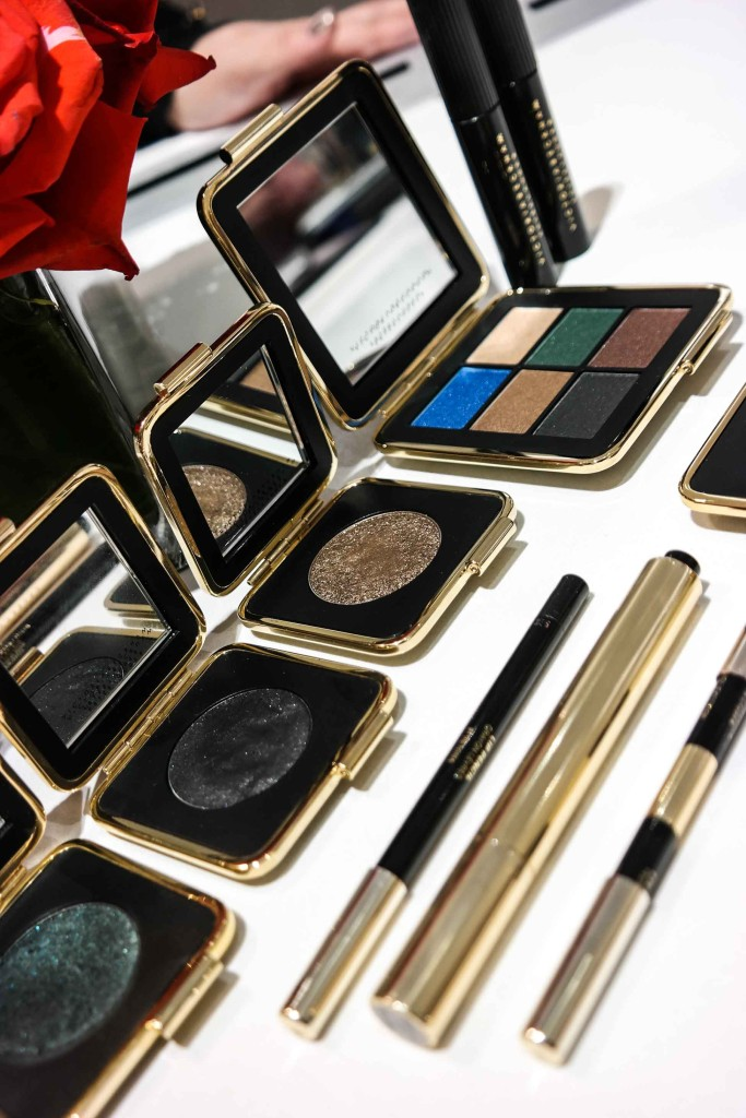 The new Victoria Beckham for Estee Lauder collection at Saks Fifth Avenue