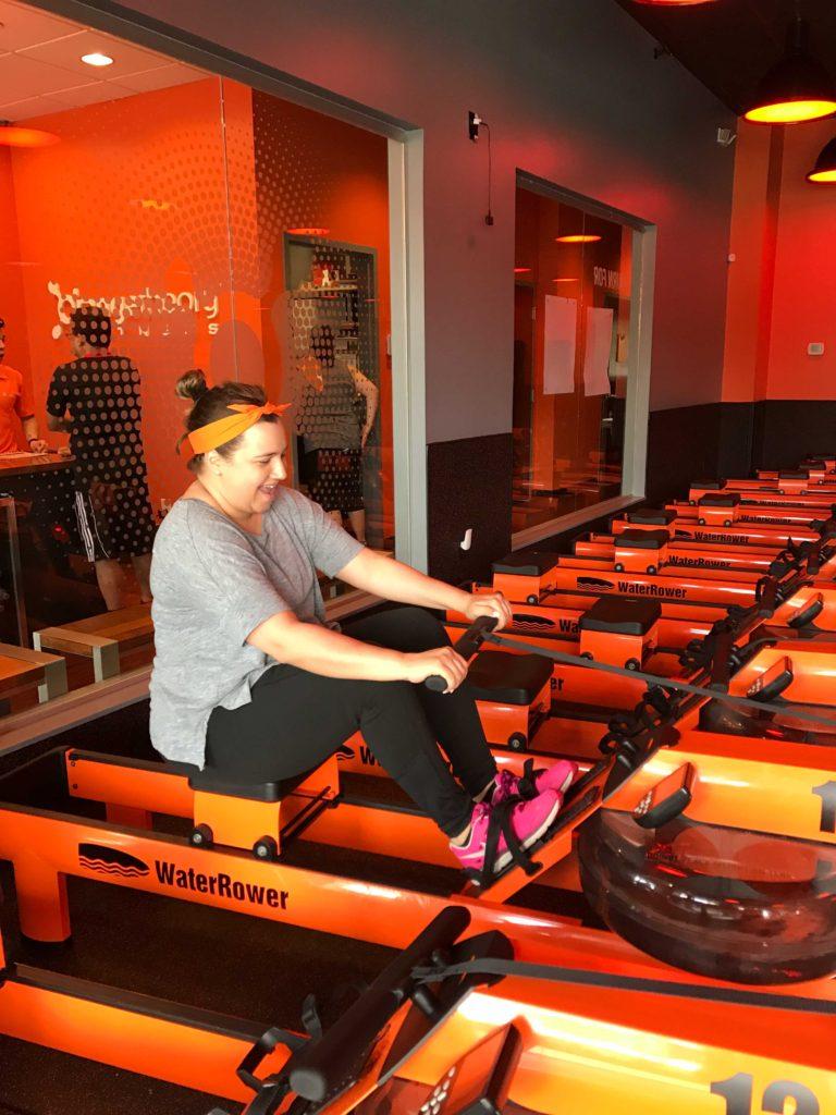 Rowing-at-Orangetheory-Fitness