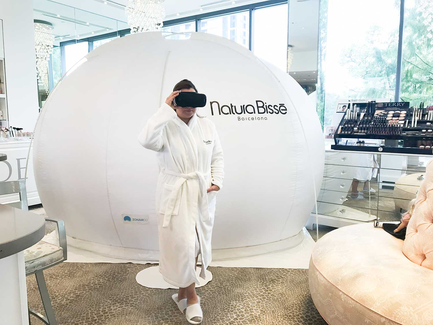 Natura BIsse Bubble Facial Experience