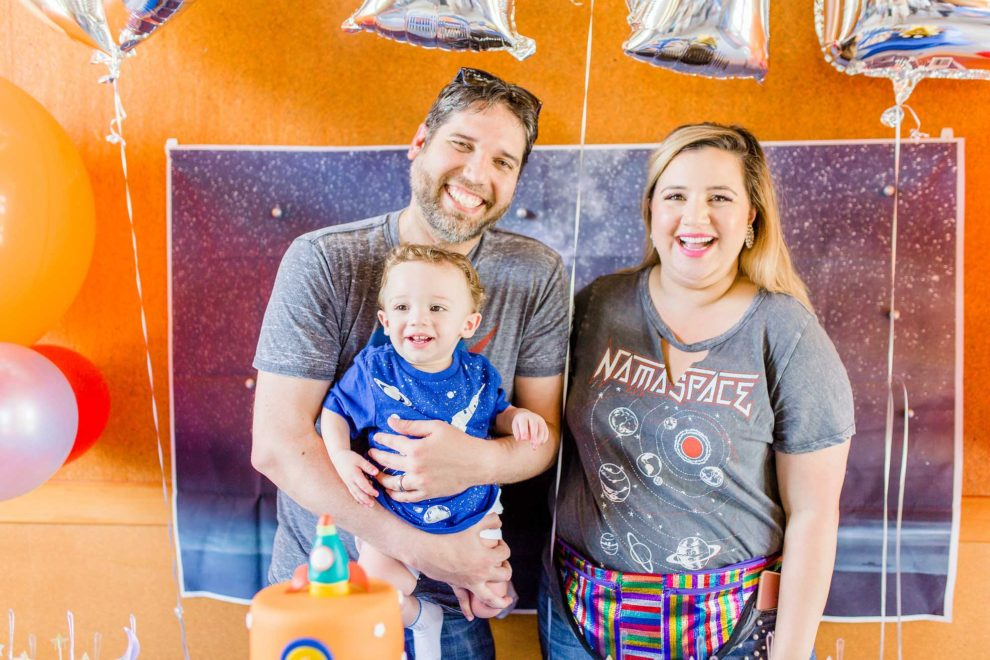 Tips for a space-rocket themed birthday party